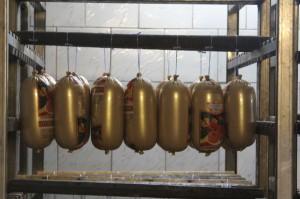Вареные колбасы - готовая продукция хладокомбината